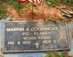 Marvin A. Goodnight, Sr
