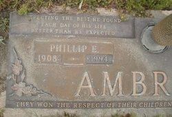 Phillip E Ambrose