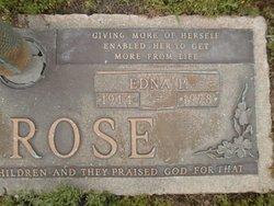 Edna P Ambrose