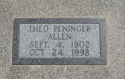 Theo Gladys <i>Moore</i> Allen