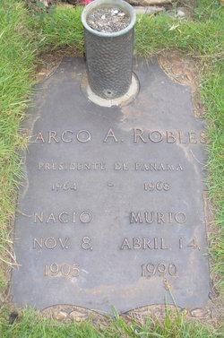 Marco Aurelio Robles