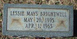 Lessie Jane <i>Mays</i> Brightwell