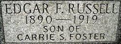 Edgar F Russell