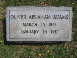 Oliver Abraham Adams