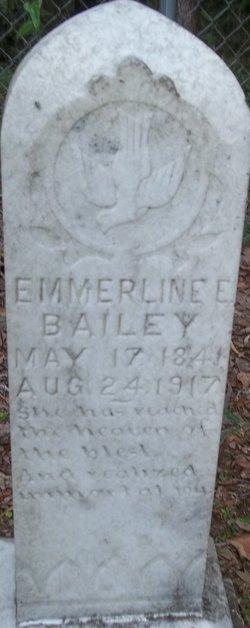 Emmerline E <i>Jarman</i> Bailey