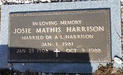 Josie Mathis <i>Lummus</i> Harrison