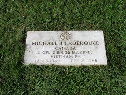LCpl Michael John Laderoute