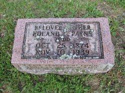 Chief Roland Silas Payne
