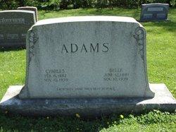 Eliza Belle <i>Jones</i> Adams