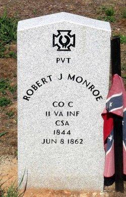 Pvt Robert J. Monroe