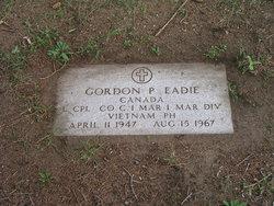 LCpl Gordon Patterson Eadie