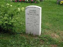 PFC James Paton Nicholson