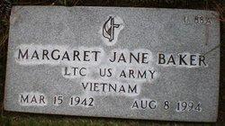 Margaret Jane Baker