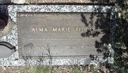 Alma Marie <i>McCauley</i> Asbeck Tedder