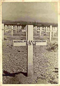 Private John Henry Copleston