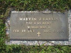 Marvin J Earles