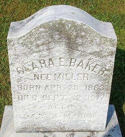 Clara E <i>Miller</i> Baker
