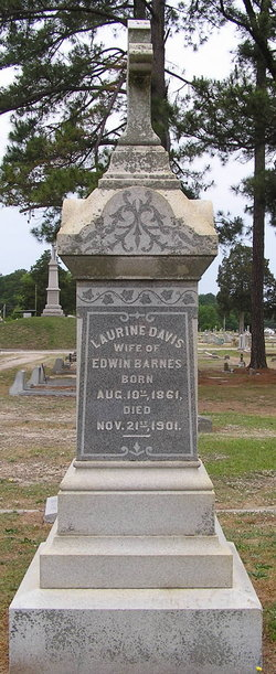 Lucy Laurine <i>Davis</i> Barnes