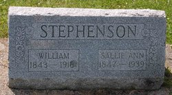 Sarah Ann Sallie <i>Gulick</i> Stephenson