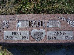 Annie Maria <i>Brantner</i> Boit
