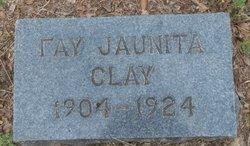 Fay Juanita <i>Crosley</i> Clay