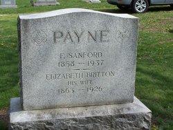 Elizabeth A. <i>Britton</i> Payne