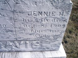 Jennie May <i>McFarland</i> Davis