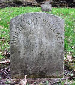 Martha Ann <i>Dickey</i> Wallace