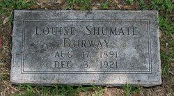 Louise <i>Shumate</i> Durway