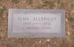 Alma Eva <i>Walker</i> Allbright