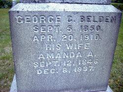 Amanda A <i>Clapp</i> Belden