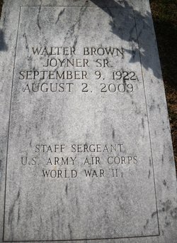 Walter Brown Joyner, Sr