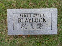 Sarah Gertie Blaylock
