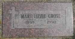 Mary Elizabeth Lizzie <i>Vorrath</i> Grose
