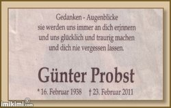 G�nter Probst