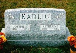 Katherine <i>Dobias</i> Kadlic
