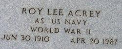 Roy Lee Acree