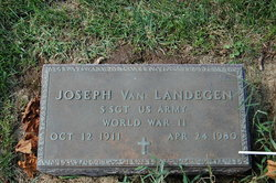 Joseph Joe Van Landegen