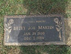 Betty Joe Martin