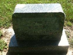 Alpha E. <i>Wilson</i> Bowman