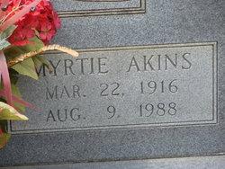 Myrtie <i>Akins</i> Gay