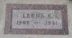 Leona R <i>Kirkendall</i> Fey
