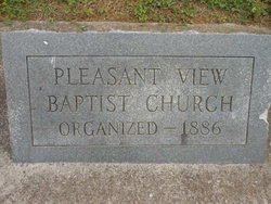 Pleasant View Baptist Church Cemetery
