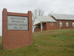Old Center Primitive Baptist Church Cemetery