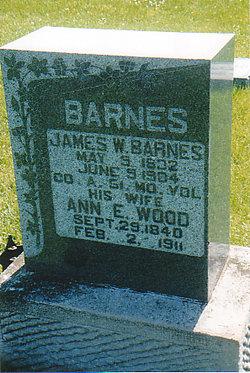Ann Elizabeth <i>Wood</i> Barnes