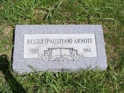Bessie <i>Paustian</i> Arnote