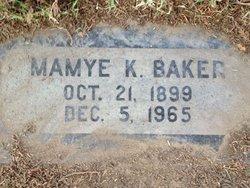 Mamye <i>Kirks</i> Baker