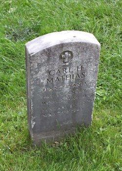 Pvt Carl H. Mathias