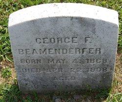 George F Beamesderfer