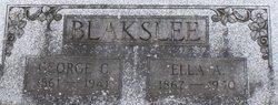 George C Blakslee